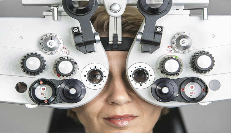 Очки - коррекция зрения при близорукости